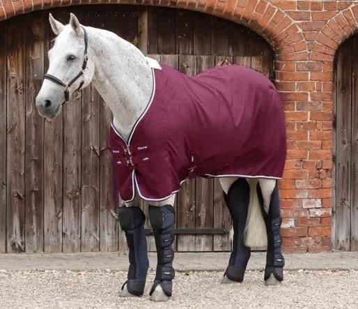 Buster waffle horse cooler rug